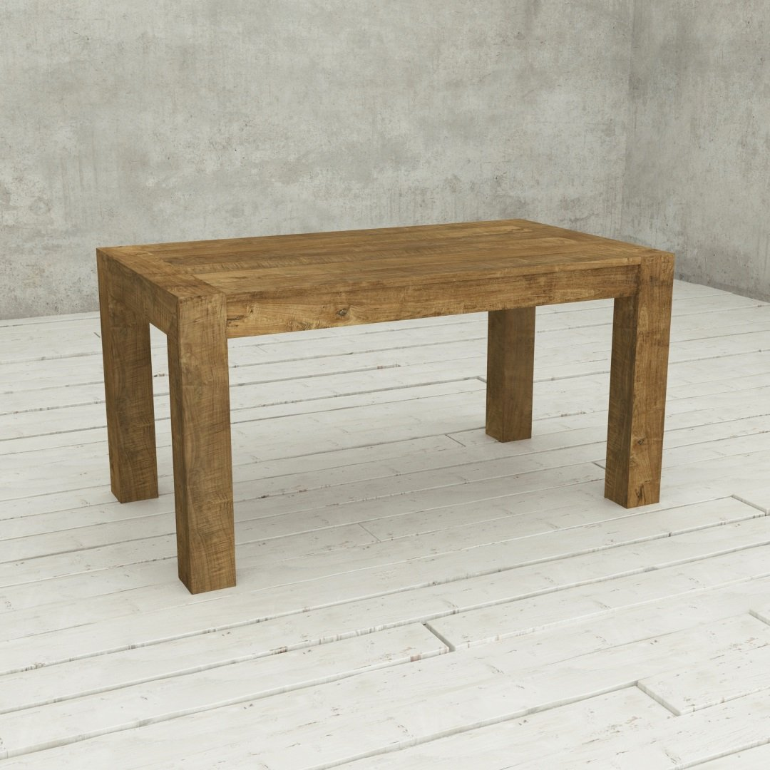 Urban Woodcraft | 60 Inch Natural Agency Dining Table 001
