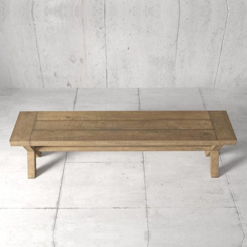 Urban Woodcraft | 70'' Natural Grand X Bench 2