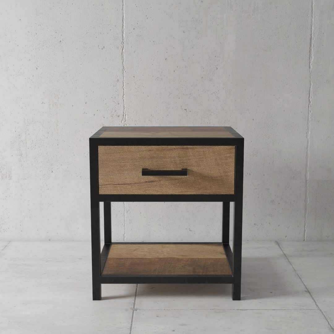 Urban Woodcraft | 18'' Bedside Table Opus Bedroom 2 MAIN