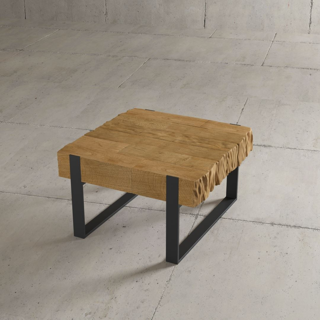 Urban Woodcraft | 24'' Natural Hudson End Table 2