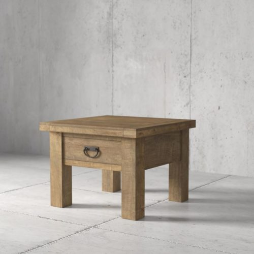 Urban Woodcraft | 24'' Natural Riverbend End Table 1 MAIN
