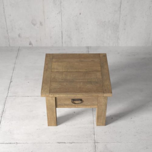 Urban Woodcraft | 24'' Natural Riverbend End Table 2