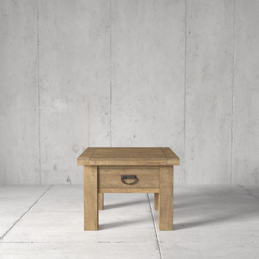 Urban Woodcraft | 24'' Natural Riverbend End Table 3