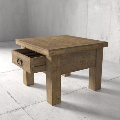 Urban Woodcraft | 24'' Natural Riverbend End Table 4