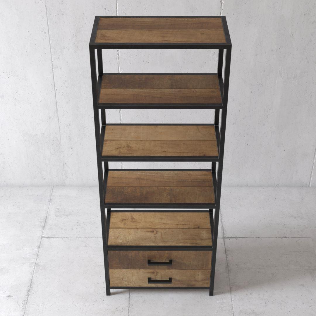 Urban Woodcraft   25'' Opus Book Shelf 2