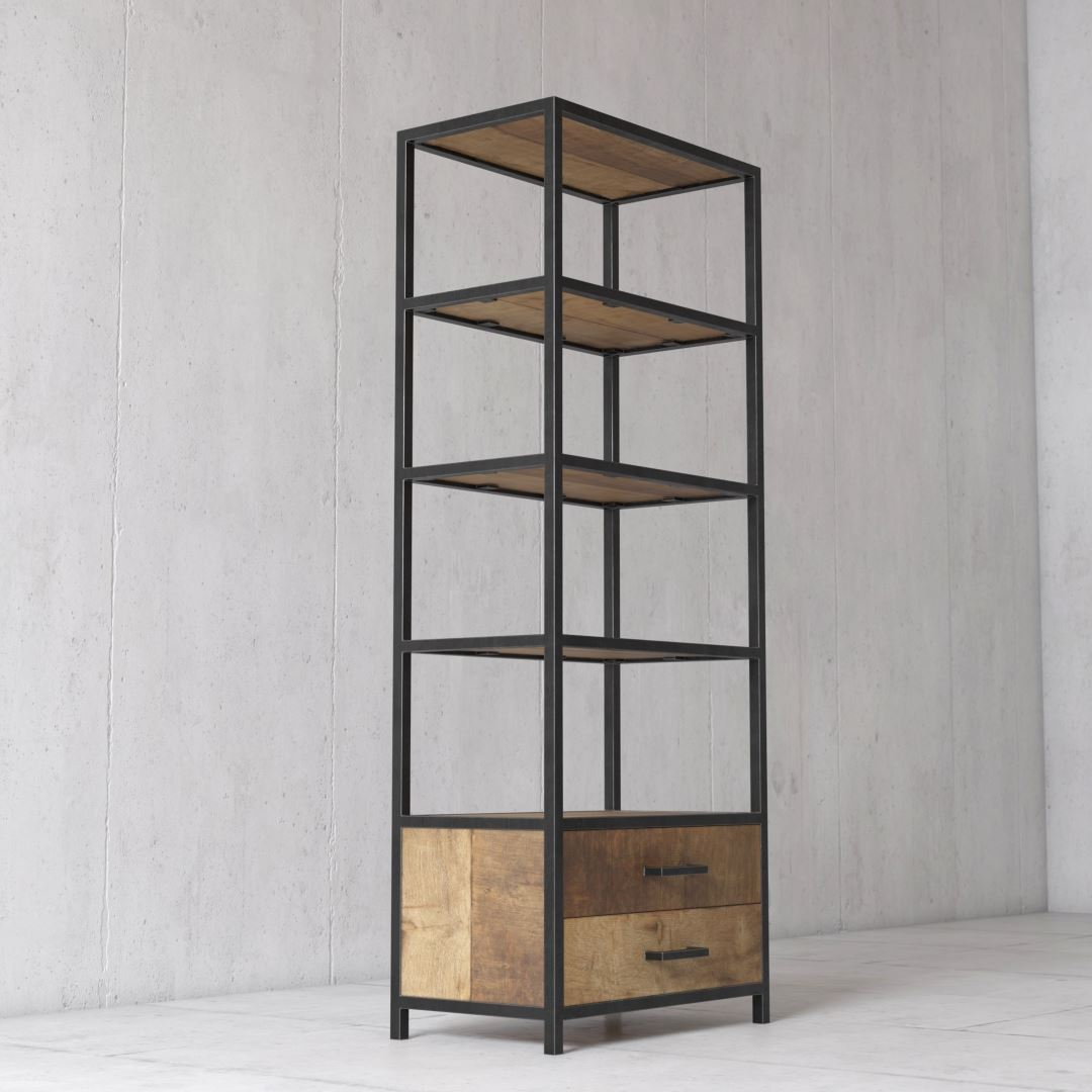 Urban Woodcraft   25'' Opus Book Shelf 3