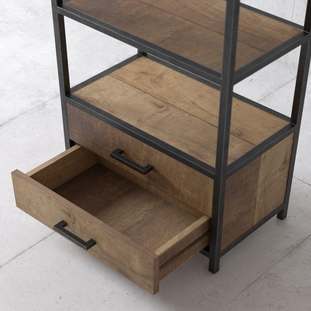 Urban Woodcraft   25'' Opus Book Shelf 4