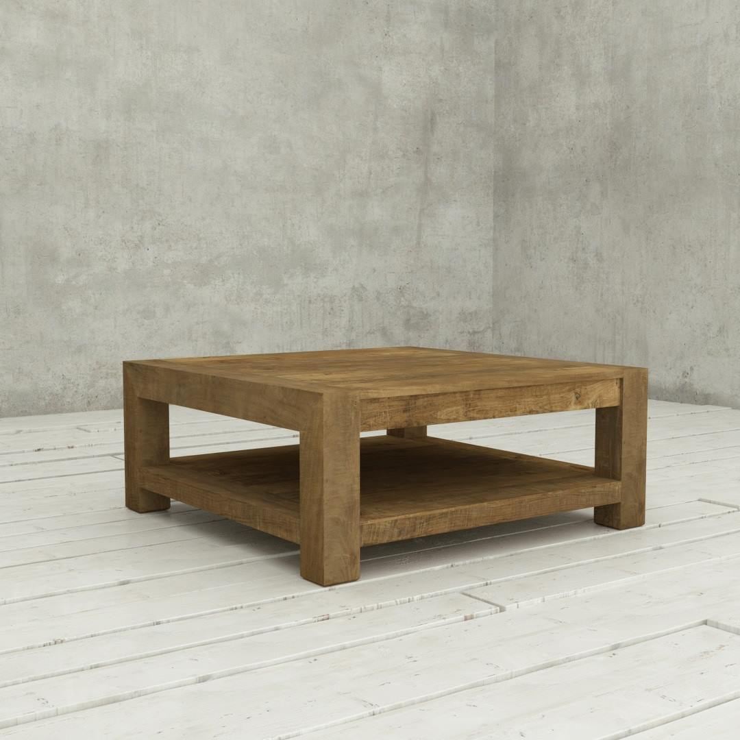 "Urban Woodcraft Classic looks 40"" Agency Villa Coffee Table natural Wood Finished Reclaimed Teak Oak Pine Wood Cut Well"
