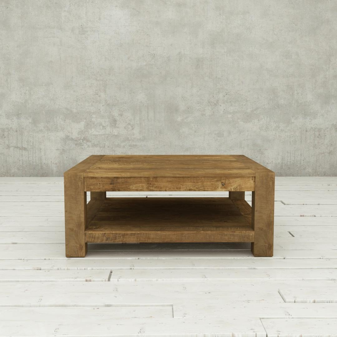 Urban Woodcraft | 40'' Natural Agency Coffee Table 2