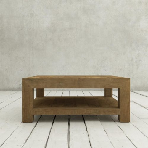 Urban Woodcraft | 40'' Natural Agency Coffee Table 3