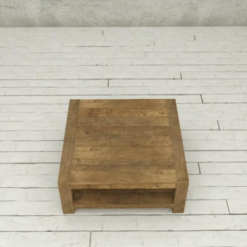 Urban Woodcraft | 40'' Natural Agency Coffee Table 4