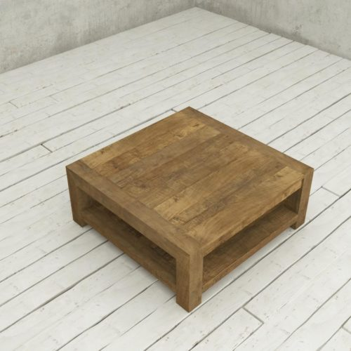 Urban Woodcraft | 40'' Natural Agency Coffee Table 5