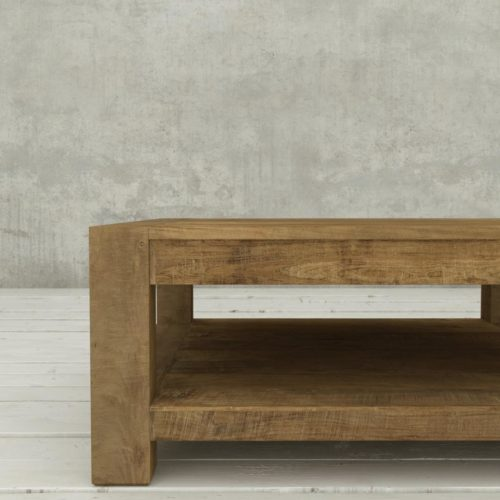 Urban Woodcraft | 40'' Natural Agency Coffee Table 6