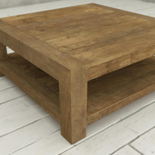 Urban Woodcraft | 40'' Natural Agency Coffee Table 8