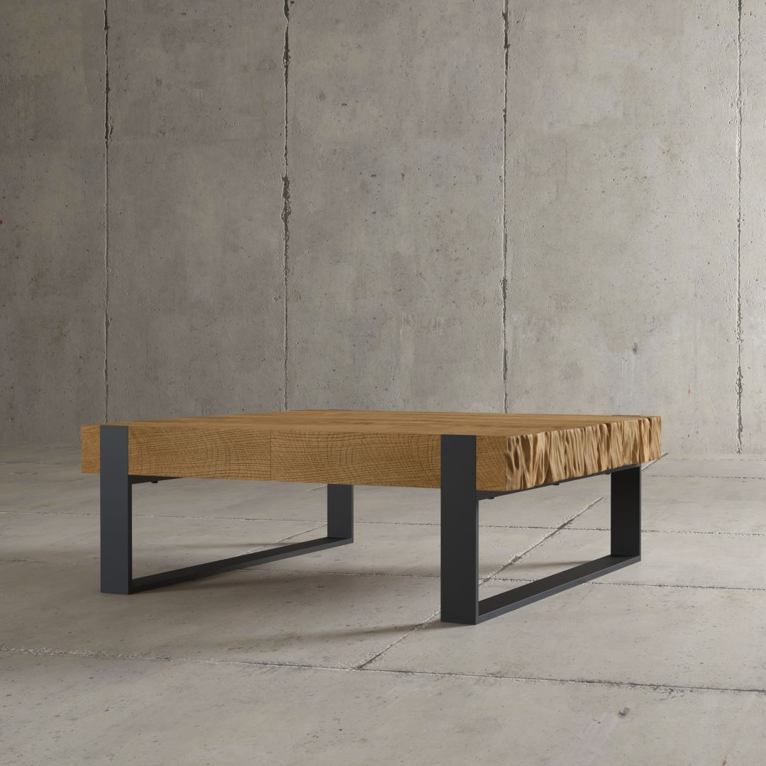 "Urban Woodcraft | 40"" Natural Hudson Coffee Table 1 MAIN"