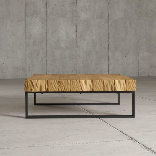 "Urban Woodcraft | 40"" Natural Hudson Coffee Table 3"