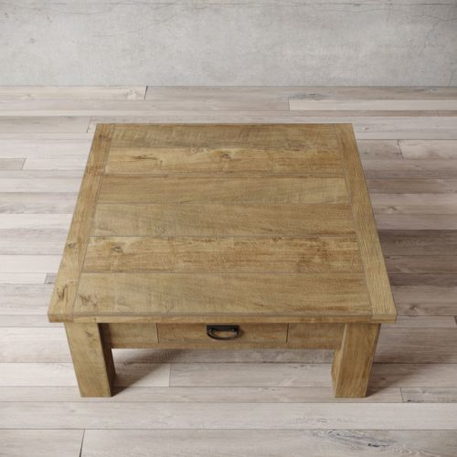 "Urban Woodcraft | 40"" Natural Riverbend Coffee Table 2"