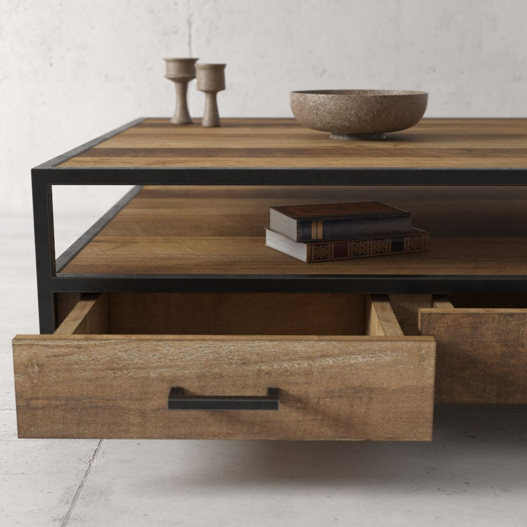 Urban Woodcraft | 43'' Opus Coffee Table 5