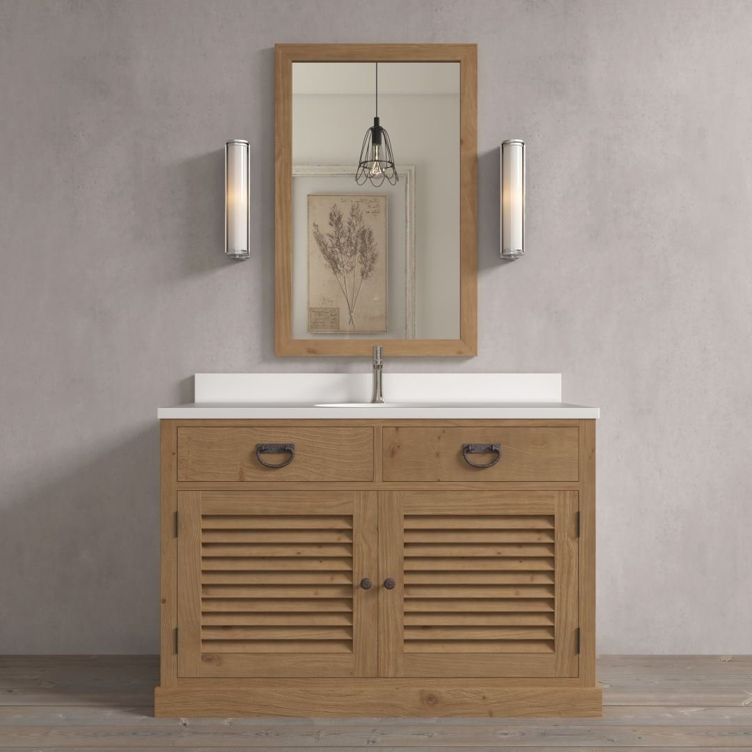 Urban Woodcraft | 48'' Antique Pine Ardenne Single Vanity 1 MAIN