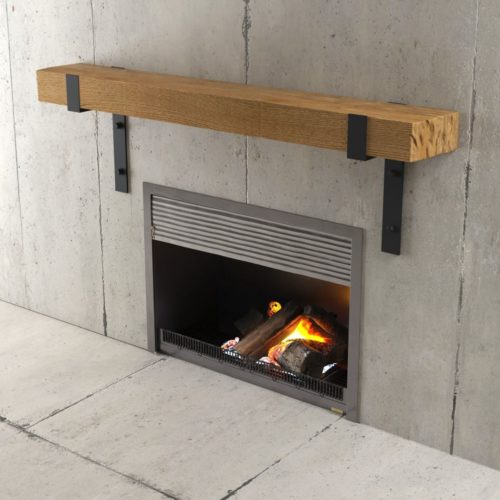 Urban Woodcraft | 48'' Natural Wall Mantel 3