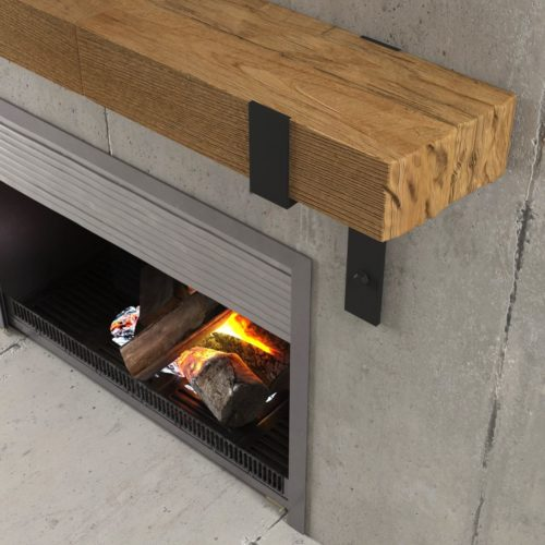 Urban Woodcraft | 48'' Natural Wall Mantel 4