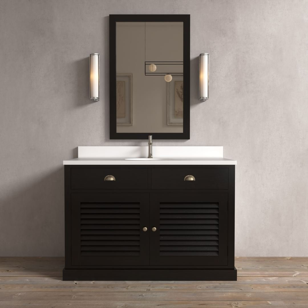 Urban Woodcraft | 48'' Noire Ardenne Single Vanity 1 MAIN