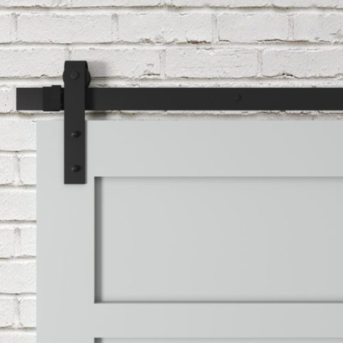 Urban Woodcraft | 5 Panel Grey Barn Door 4