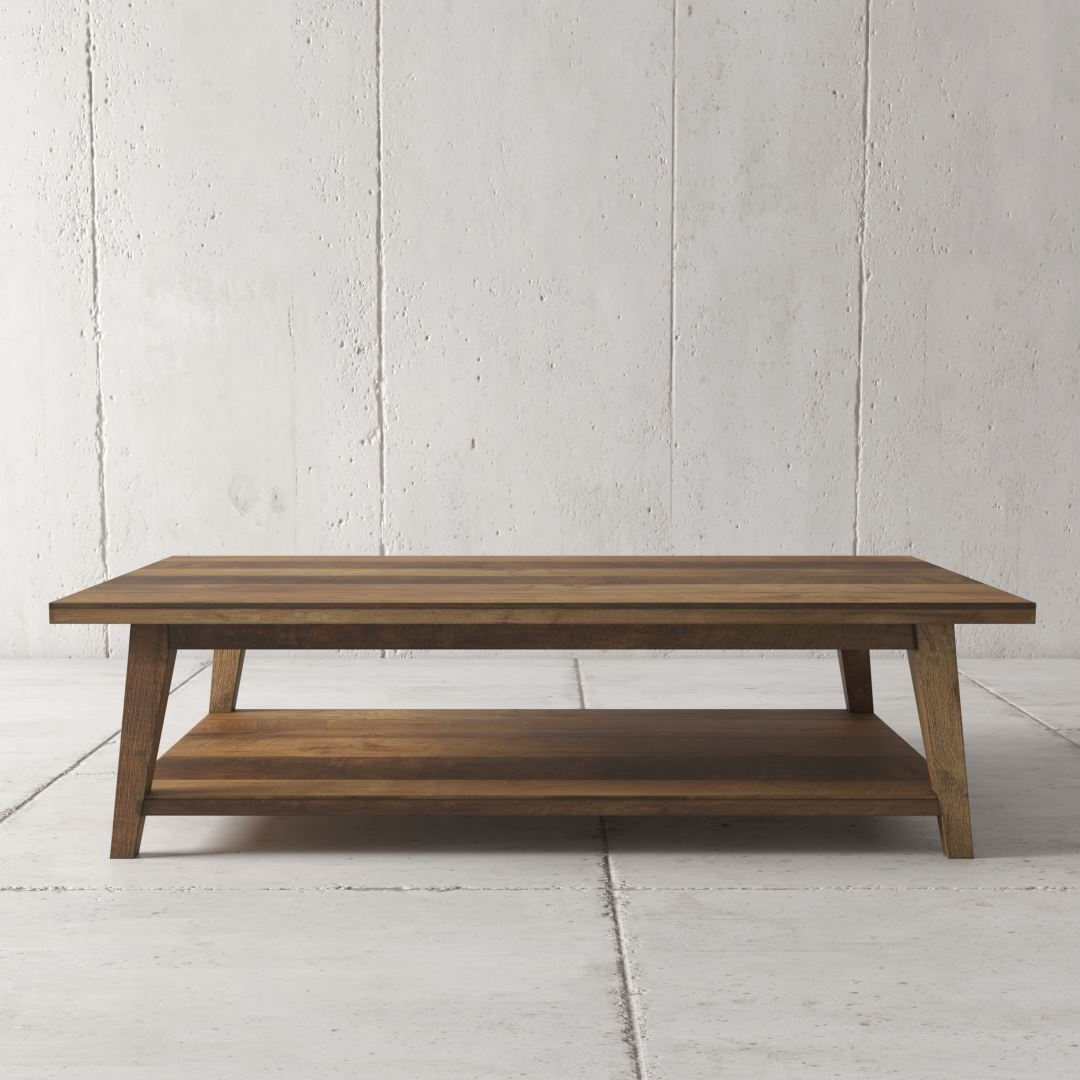 Urban Woodcraft | 51'' Multi-Coloured Teak Circa Coffee Table 1 MAIN