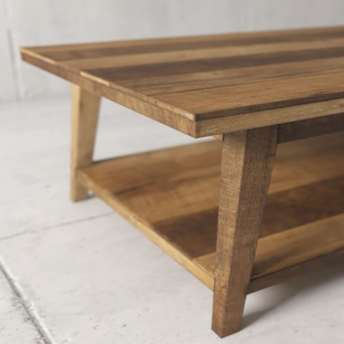 Urban Woodcraft | 51'' Multi-Coloured Teak Circa Coffee Table 4
