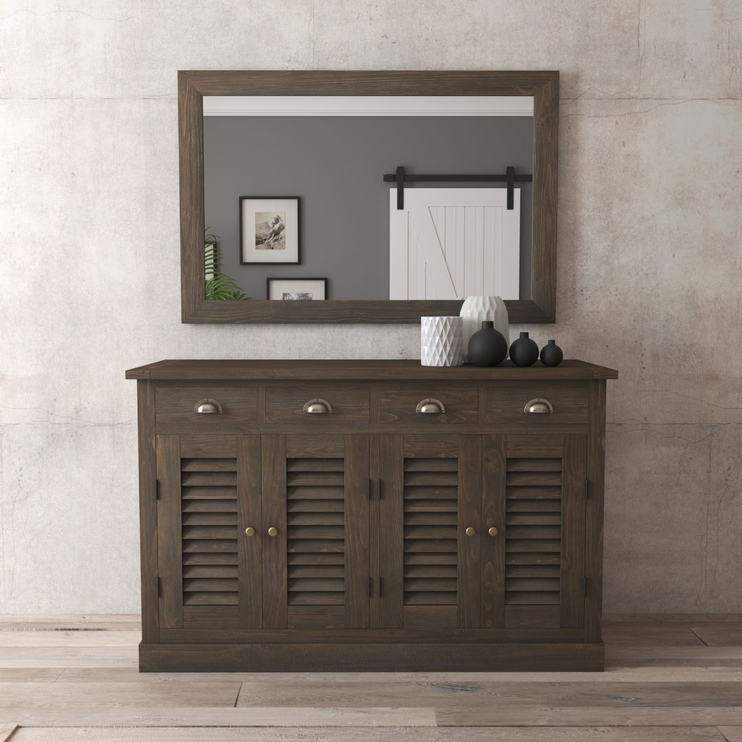 "Urban Woodcraft | 55"" Amalfi Dining Buffet 3 MAIN"
