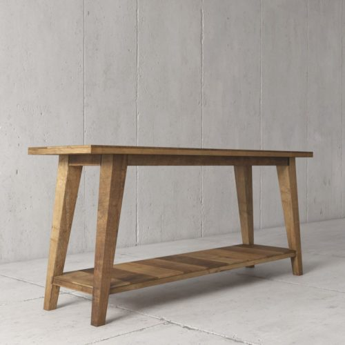 Urban Woodcraft | 55'' Multi-Coloured Teak Circa Console 2
