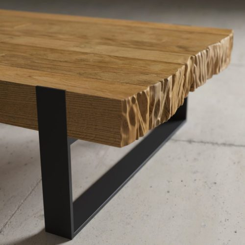Urban Woodcraft | 55'' Natural Hudson Coffee Table 4