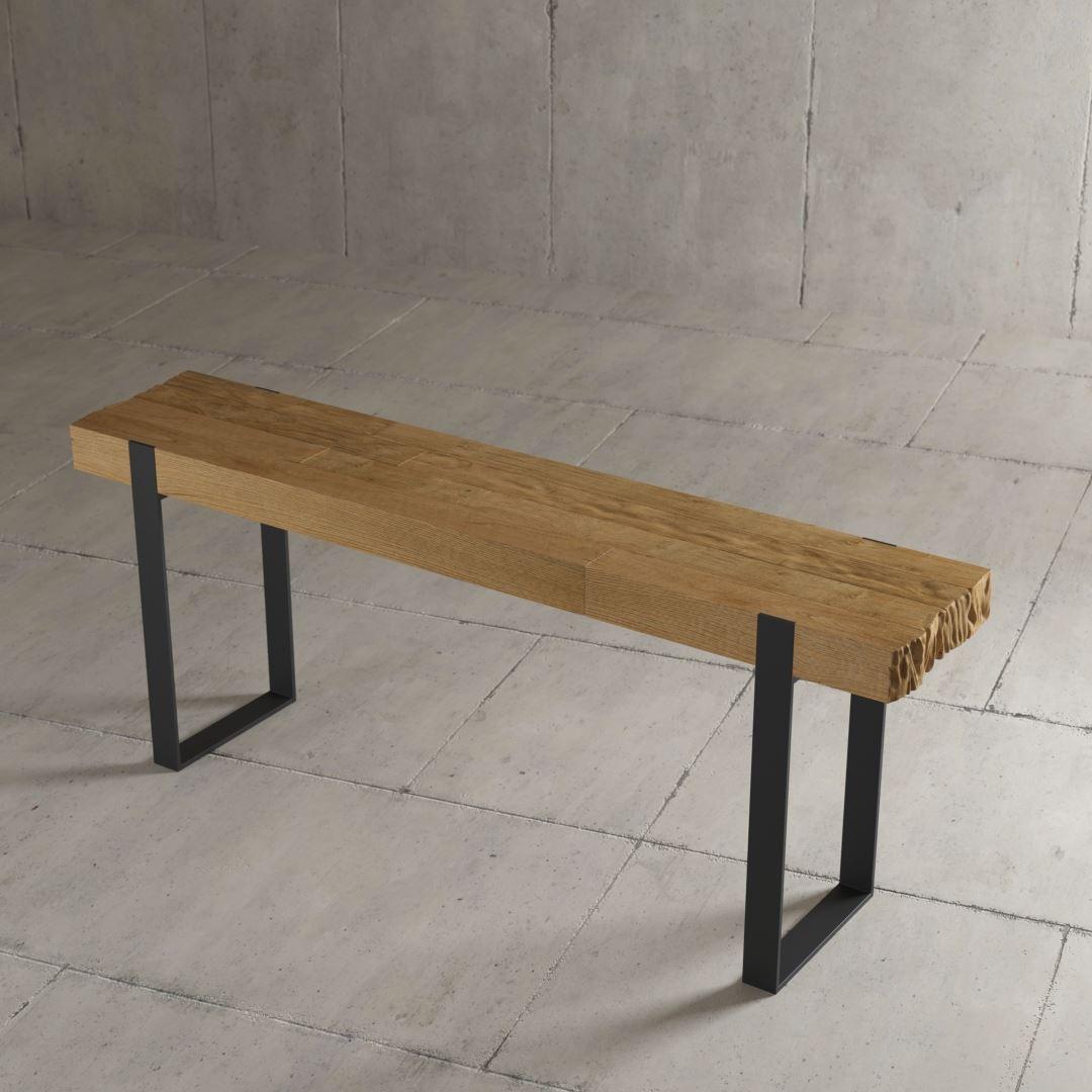 Urban Woodcraft | 55'' Natural Hudson Console 2