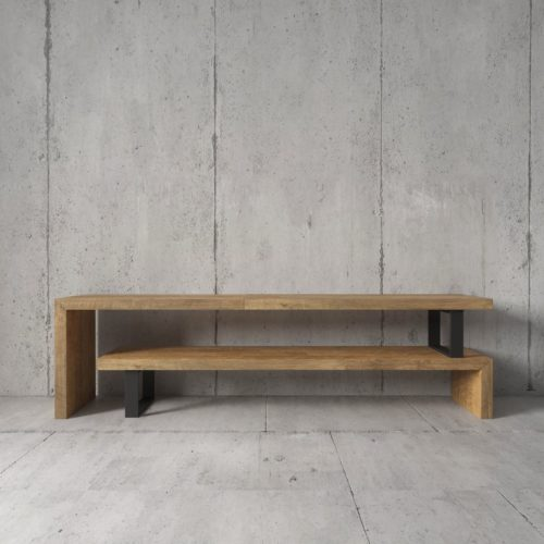 Urban Woodcraft | 59'' Natural Soma TV Stand 5