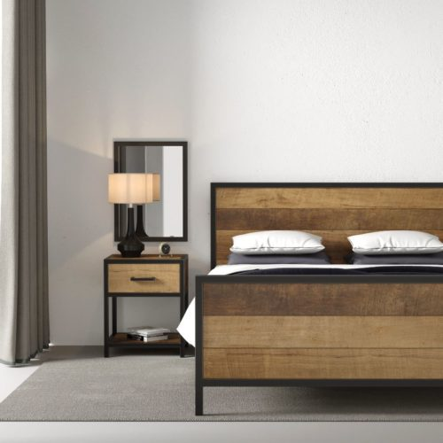 Urban Woodcraft | 62'' Queen Bed Opus 1 MAIN