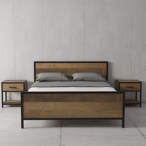 Urban Woodcraft | 62'' Queen Bed Opus 2