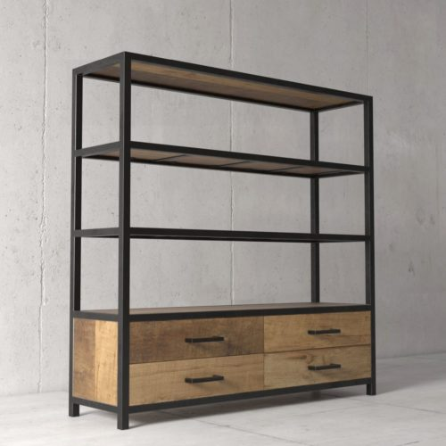 Urban Woodcraft | 63'' Opus Bookshelf 2