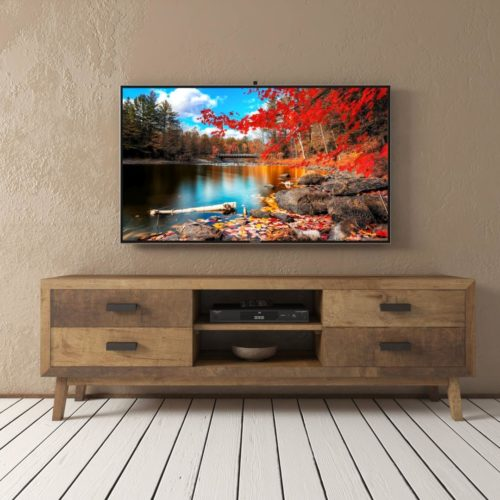 Urban Woodcraft | 67'' Circa TV Stand in Reclaimed Wood 1 MAIN