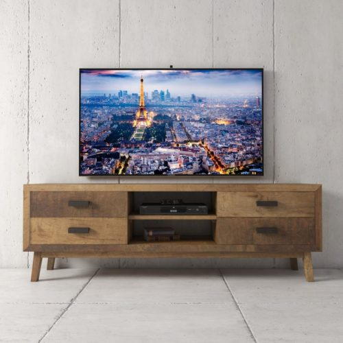 Urban Woodcraft 67'' Circa TV Stand in Reclaimed Wood 2 MAIN