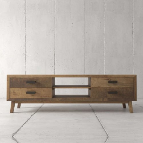 Urban Woodcraft | 67'' Circa TV Stand in Reclaimed Wood 3