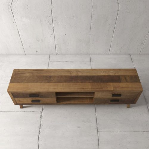 Urban Woodcraft | 67'' Circa TV Stand in Reclaimed Wood 5