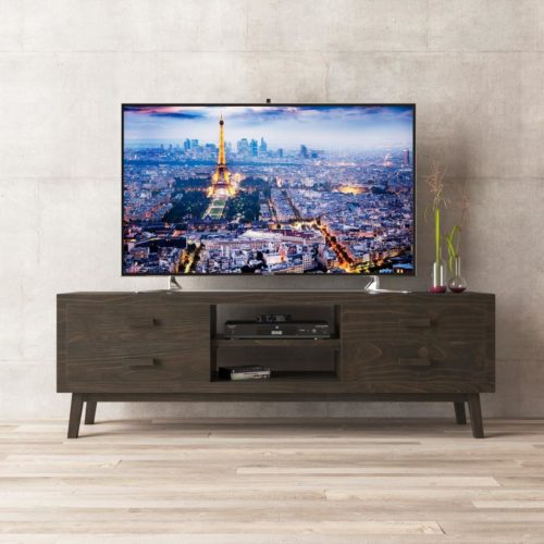 Urban Woodcraft | 67'' Circa TV Stand in Salvaged Espresso 1 MAIN