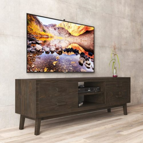 Urban Woodcraft | 67'' Circa TV Stand in Salvaged Espresso 2 MAIN
