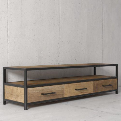 Urban Woodcraft | 67'' Opus Reclaimed Wood TV Stand 3