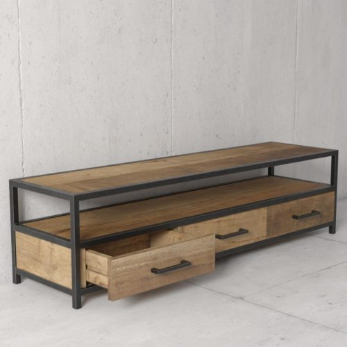 Urban Woodcraft | 67'' Opus Reclaimed Wood TV Stand 4
