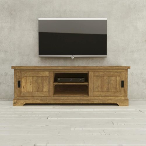 Urban Woodcraft | 68'' Muskoka TV Stand Reclaimed Wood 1 MAIN