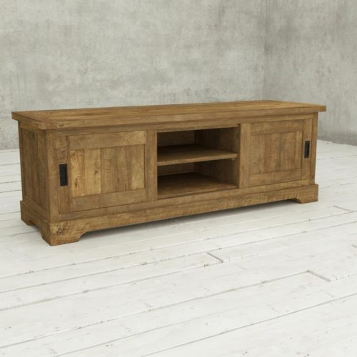Urban Woodcraft | 68'' Muskoka TV Stand Reclaimed Wood 3