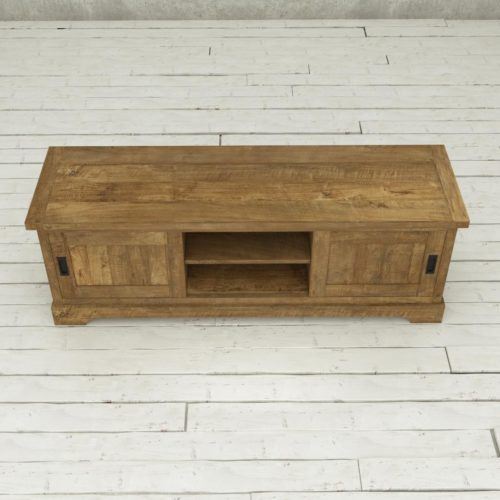 Urban Woodcraft | 68'' Muskoka TV Stand Reclaimed Wood 5