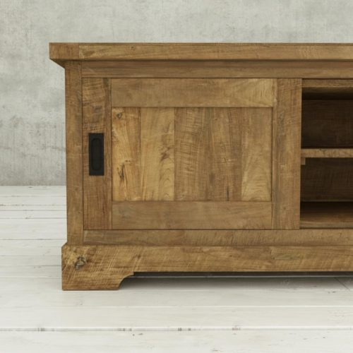 Urban Woodcraft | 68'' Muskoka TV Stand Reclaimed Wood 6