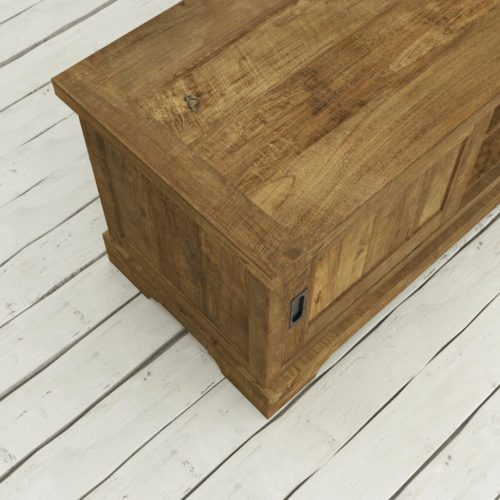Urban Woodcraft | 68'' Muskoka TV Stand Reclaimed Wood 8